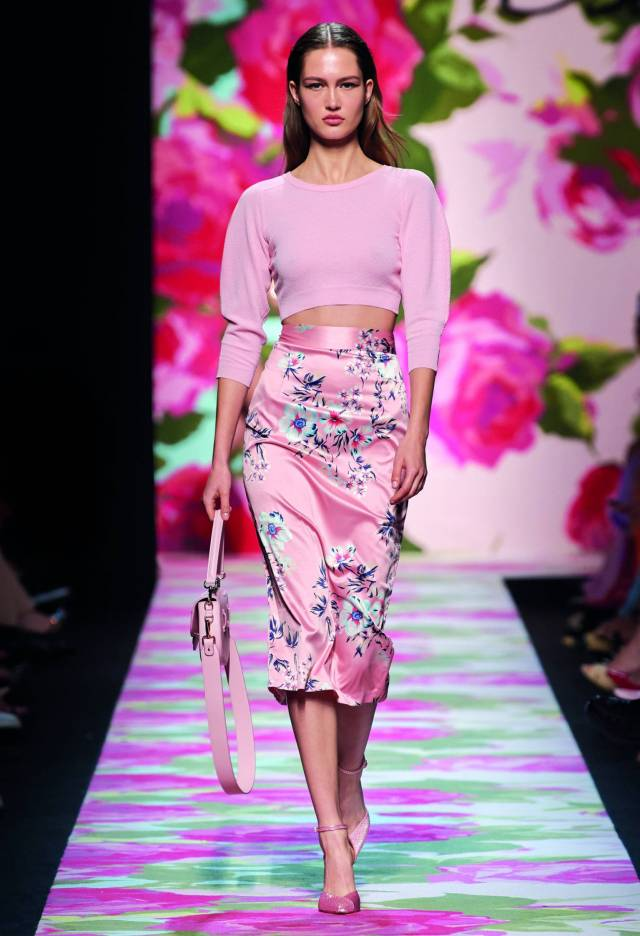 It seems that Blumarine's love for floral prints has never been so pronounced.